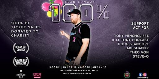 SEAN CONWAY 100% FringeWorld Show