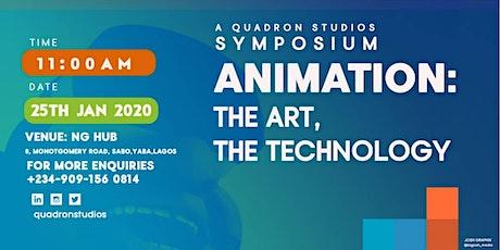 The Quadron Animation Symposium tickets