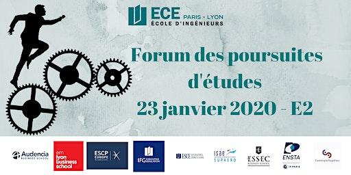 Forum des poursuites d'études de l'ECE - 23 Janvier 2020