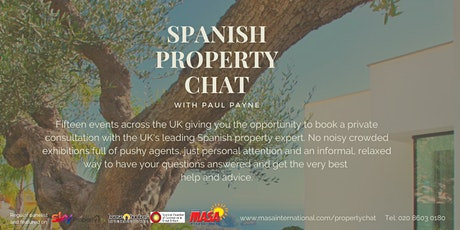 Bournemouth: Spanish Property Chat tickets
