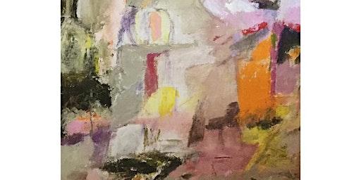 """BIRGITTA STENBERG - """"Att vandra i"""" - på Galleri Upsala 8-13 feb 2020"""