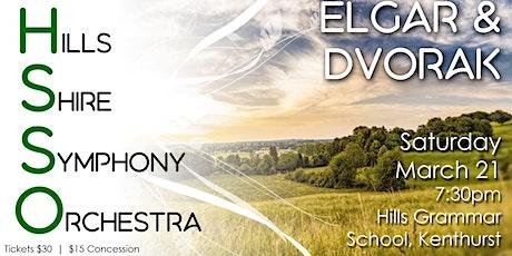 HSSO 1: Elgar & Dvorak tickets