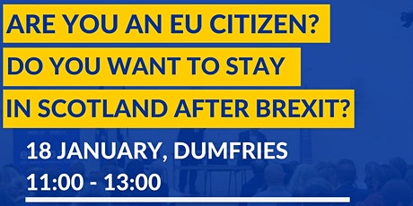 EU Settlement Scheme Information Session in Dumfries tickets