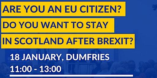 EU Settlement Scheme Information Session in Dumfries