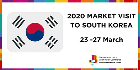 UK Market Visit to South Korea: Gumi City | March 2020 tickets