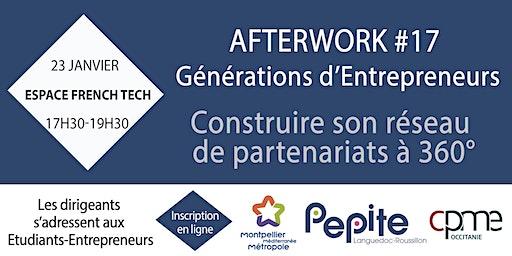 Partenariats - Afterwork #17 Générations d'Entrepreneurs