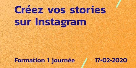 Formation // Instagram Stories billets