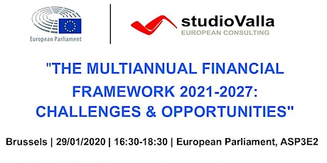 The Multiannual Financial Framework 2021-2027: Challenges & Opportunities tickets