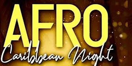 CARIBBEAN-AFRO FRIDAYS • AFROBEATS • REGGAE • SOCA • EVERYONE FREE ON RSVP tickets