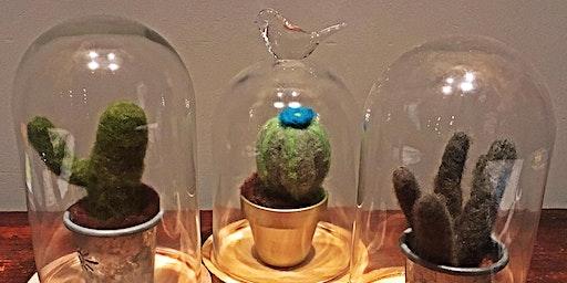 Workshop cactussen vilten