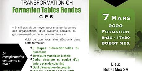 Formation Table Ronde GPS billets