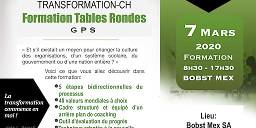 Formation Table Ronde GPS