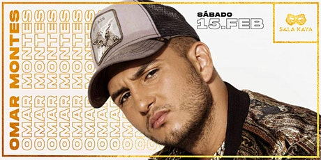 Omar Montes en concierto - Sala Kaya entradas