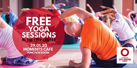 FREE Monthly City Centre Yoga - 4 Sessions (January) - Mats Provided tickets