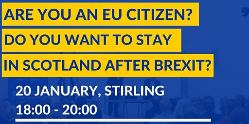 EU Settlement Scheme Information Session in Stirling