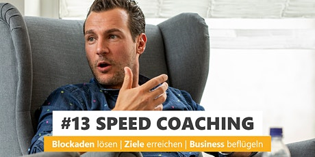 #13 SPEED COACHING Tickets
