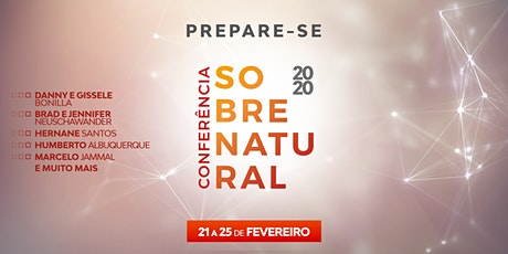 CONFERÊNCIA SOBRENATURAL 2020 - ALCANCE CURITIBA ingressos