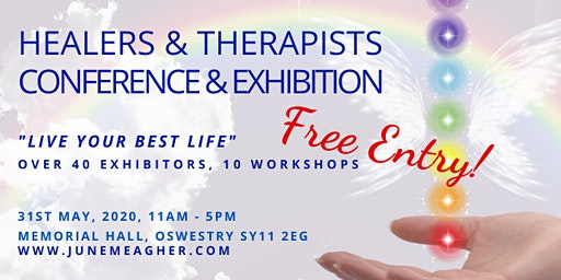 Healers & Therapists FREE Conference & Exhibition