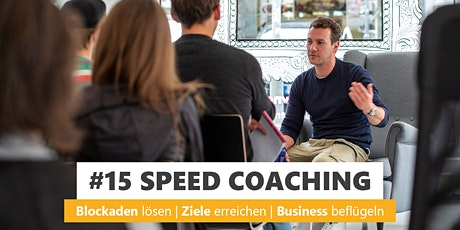 #15 SPEED COACHING Tickets
