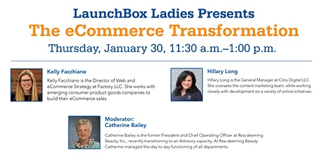 LaunchBox Ladies Presents: The eCommerce Transformation tickets