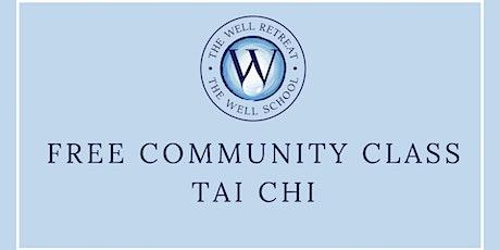 Free Tai Chi Community Class tickets