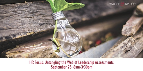 HR Focus: Untangling the Web of Leadership Assessments tickets