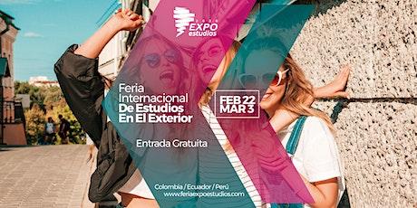 FERIA EXPOESTUDIOS BOGOTÁ 2020-I entradas