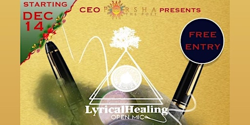 Copy of Porsha The Poet Presents - Lyrical Healing Open Mic- Charlotte (Revamped)
