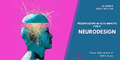 Presentazioni ad alto impatto con il Neurodesign biglietti