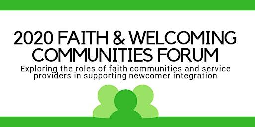 2020 Faith & Welcoming Communities Forum