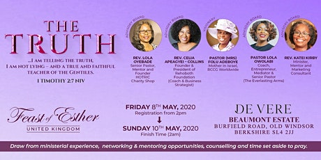 Feast of Esther UK 2020 tickets