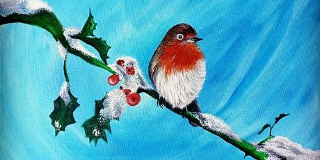 Winter Robin Painting Party  tickets