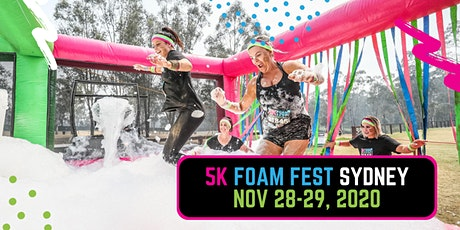 The 5K Foam Fest - Sydney 2020 tickets