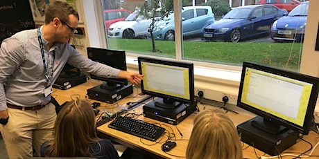 Physical computing for primary teachers with the Raspberry Pi Foundation tickets