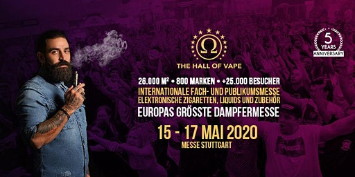 The Hall of Vape Invitation