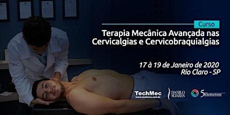 Terapia Mecânica Avançada nas Cervicalgias e Cervicobraquialgias ingressos