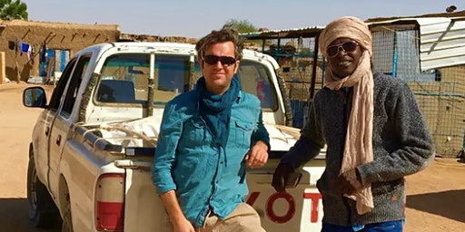 An evening with award winning journalist Phil Cox - 'Captured in Sudan'