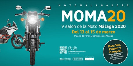 MOMA 2020, V salón de la moto de Málaga entradas