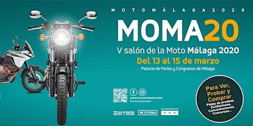 MOMA 2020, V salón de la moto de Málaga