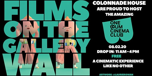 ONE BUM CINEMA CLUB - All day drop in