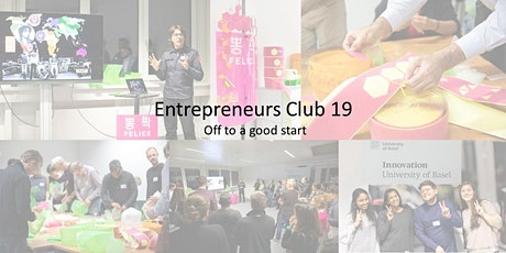 Entrepreneurs Club 19 - Off to a good start tickets