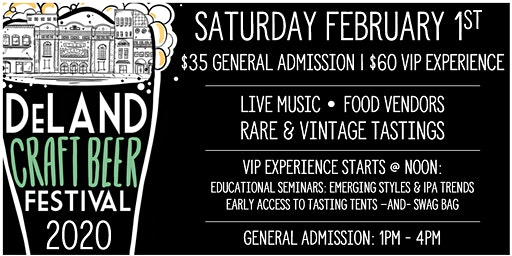 11th Annual DeLand Craft Beer Festival