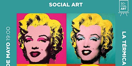 Pinta La Marilyn de Warhol