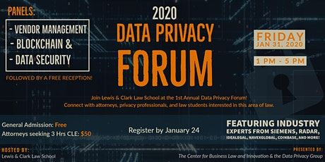 2020 Data Privacy Forum tickets
