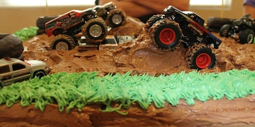 Mommy and Me: Monster Truck Cake
