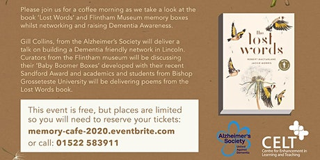 Memory Cafe - Using 'Lost Words' tickets
