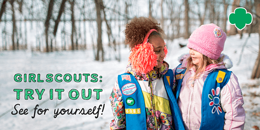 Girl Scouts: Try It Out Event for K–1st grade girls in Albertville