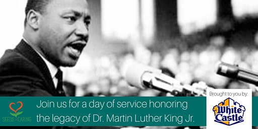 MLK Day of Service Sponsored by White Castle