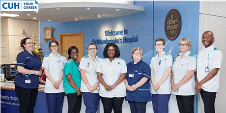 CUH's Nursing Apprenticeship 'Careers Carousel' Event tickets
