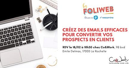 [La Rochelle] Créez des emails efficaces pour convertir vos prospects en clients billets